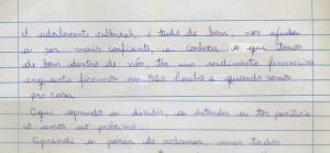 Adolescente: J.C.A. -  19 anos - São Pedro do Iguaçu/PR